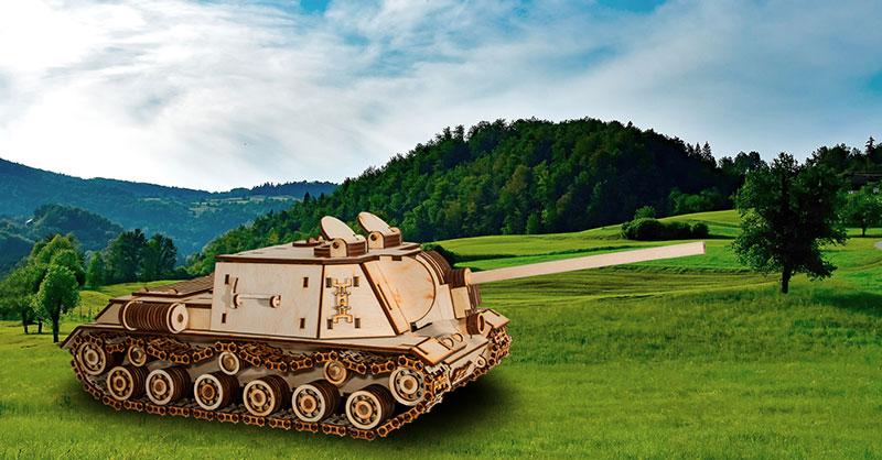 ISU-152 Eco-Wood-Art