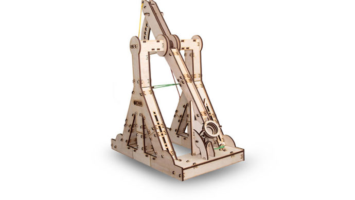 eco-wood-art Trebuchet