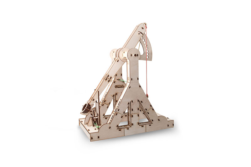 Trebuchet Eco-Wood-Art