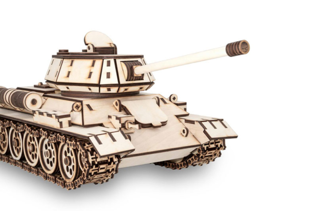 Tank T34 Eco-Wood-Art