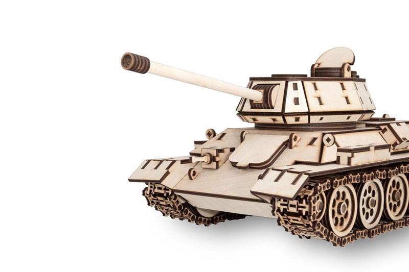 Tank T34 Eco-Wood-Art